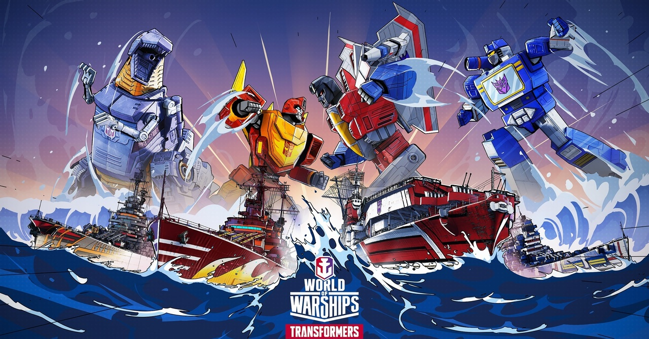 """Celebrating the 6th anniversary of """"World of Warships"""" release 0.10.8  version update content, """"Transformers"""" second wave of cooperation is about  to debut """"World of Warships"""" - Newsdir3"""
