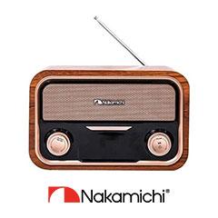 Nakamichi日本中道「新一代降噪黑科技」真無線藍牙耳機、「經典音箱」藍牙喇叭