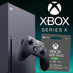 Xbox Series X 台灣專用機 + XBOX Game Pass Ultimate 同梱組(12 月下旬到貨)