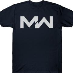 《決勝時刻:現代戰爭》New Era 59FIFTY 7 1/8 黑帽+手環+深藍色T-Shirt(M)