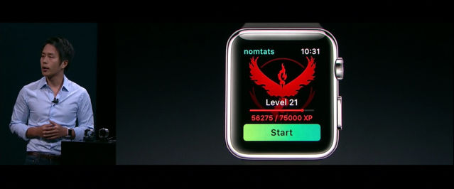 《Pokémon Go》 Apple Watch 也瘋 Pokémon Go