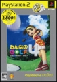 PS2 精選集 全民高爾夫 4,みんなのGOLF4 PlayStation2 the Best,Everybody's Golf 4 PlayStation2 the Best