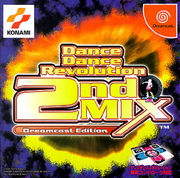 熱舞革命 2rdMIX,ダンスダンスレボリューション 2nd MIX Dreamcast Edition,DANCE DANCE REVOLUTION 2ndMIX Dreamcast Edition